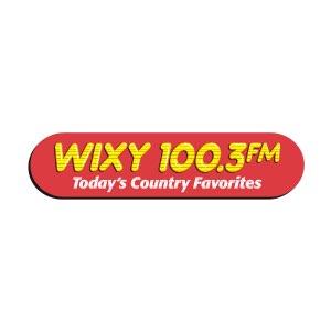 WIXY 100.3 logo